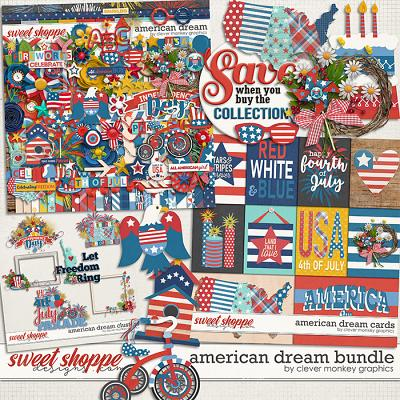American Dream Bundle by Clever Monkey Graphics