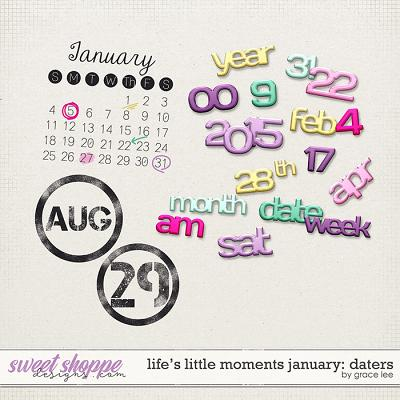 Life's Little Moments January Daters by Grace Lee