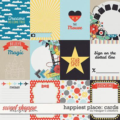 Happiest Place : Cards by Meagan's Creations