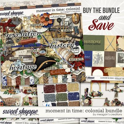 Moment in Time: Colonial Collection Bundle by Meagan's Creations