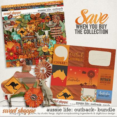 Aussie Life: Outback- BUNDLE by Digilicious, DSI & Flergs