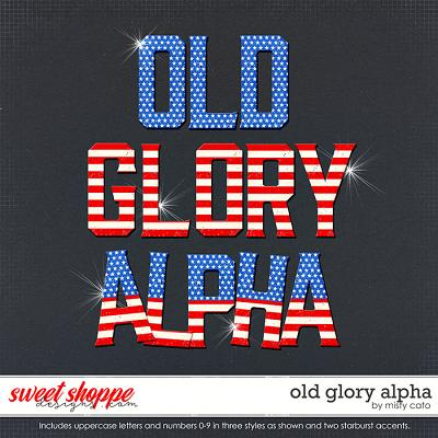 Old Glory Alpha by Misty Cato