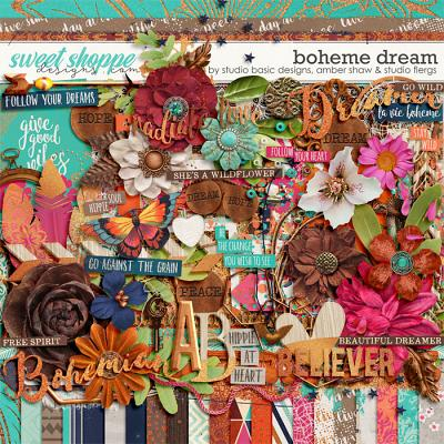 Boheme Dream Kit by Amber Shaw, Studio Basic and Studio Flergs