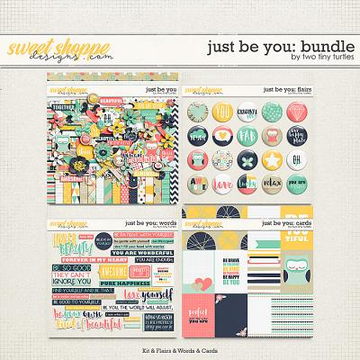 Just Be You: Bundle by Two Tiny Turtles