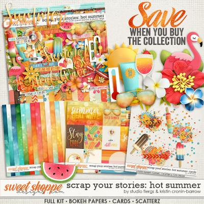 Scrap Your Stories: Hot Summer- COLLECTION by Studio Flergs and Kristin Cronin-Barrow