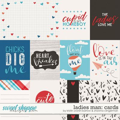 Ladies Man Cards by Kristin Cronin-Barrow and Shawna Clingerman