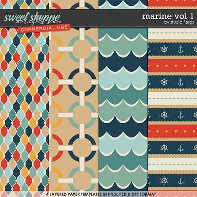 Marine VOL 1 by Studio Flergs