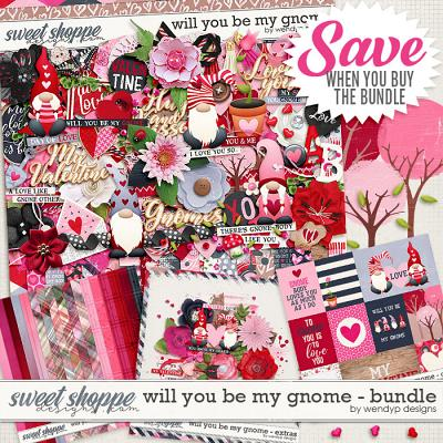 Will you be my gnome - Bundle by WendyP Designs