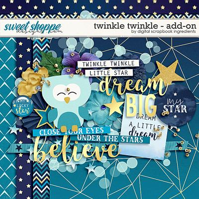 Twinkle Twinkle Add-On by Digital Scrapbook Ingredients