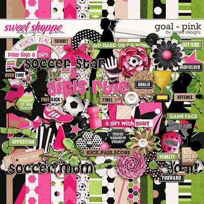 Goal Pink by JoCee Designs