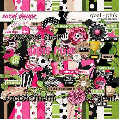 Goal Pink by JoCee Designs