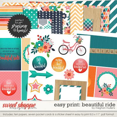 Easy Print: Beautiful Ride by Meghan Mullens
