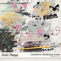 Creative Thinking Mess by Sugary Fancy