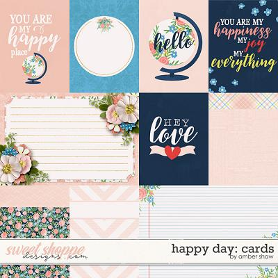 Happy Day: Cards by Amber Shaw