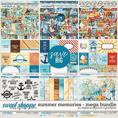 Summer Memories Mega Bundle & *FWP* by Digital Scrapbook Ingredients