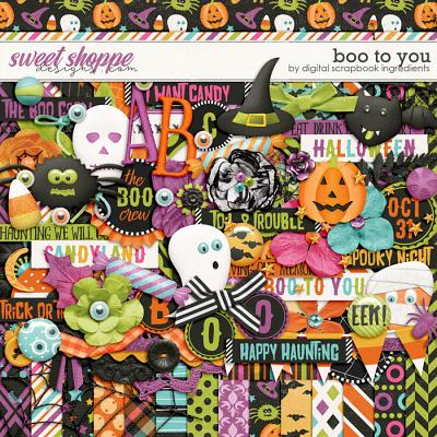Boo To You by Digital Scrapbook Ingredients
