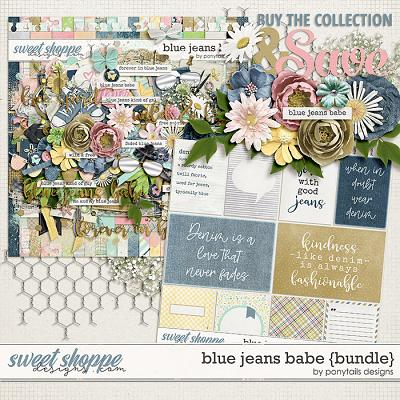 Blue Jeans Babe Bundle by Ponytails