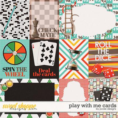 Play With Me Cards by JoCee Designs