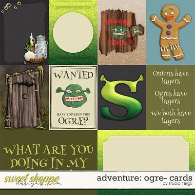 Adventure: Ogre- CARDS by Studio Flergs
