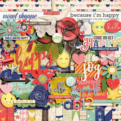 Because I'm Happy by Amanda Yi & River Rose Designs
