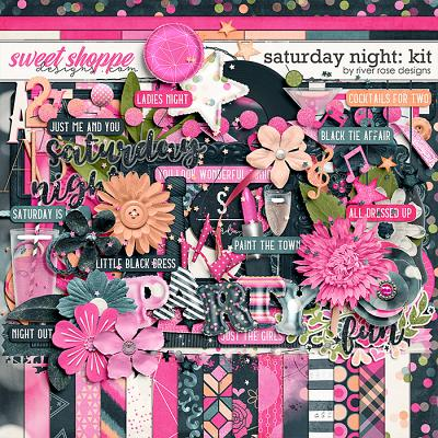 Saturday Night: Kit by River Rose Designs