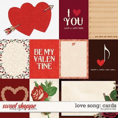 Love Song: Cards by Grace Lee