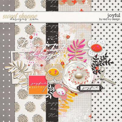 Joyful - FREE SAMPLE by Red Ivy Design