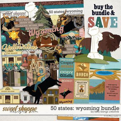 50 States: Wyoming Bundle by Kelly Bangs Creative