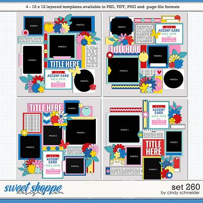 Cindy's Layered Templates - Set 260 by Cindy Schneider