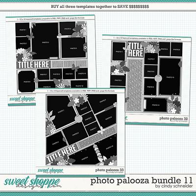 Cindy's Layered Templates - Photo Palooza Bundle 11 by Cindy Schneider