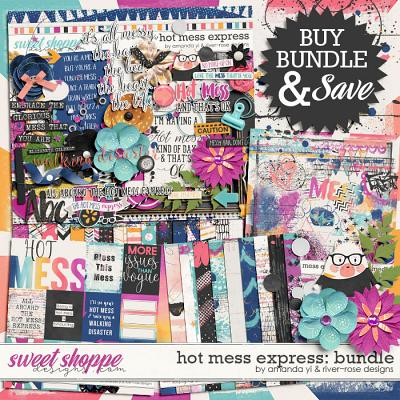 Hot Mess Express Collection by Amanda Yi & River Rose Designs