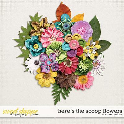Here's the Scoop Flowers by JoCee Designs
