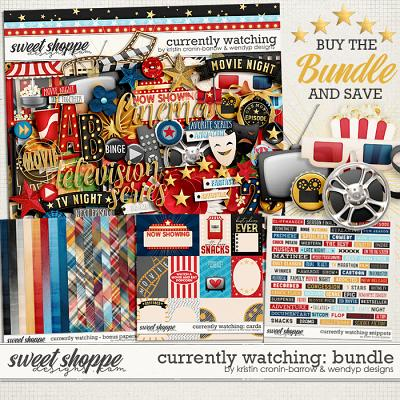 Currently watching - Bundle by Kristin Cronin-barrow & WendyP Designs