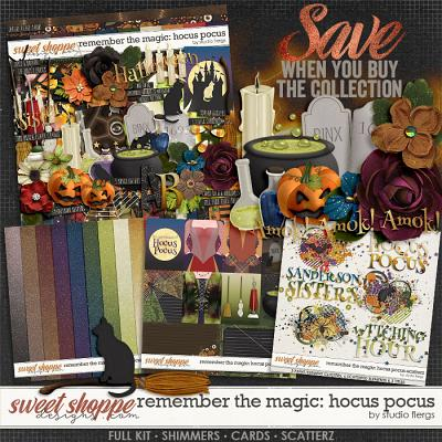 Remember the Magic: HOCUS POCUS- COLLECTION & *FWP* by Studio Flergs