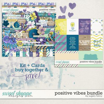Positive Vibes Bundle by Sugary Fancy