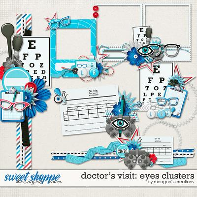 Doctor's Visit: Eyes Clusters by Meagan's Creations