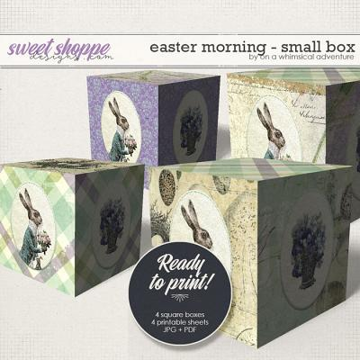 Easter Morning Small DIY Box by On A Whimsical Adventure