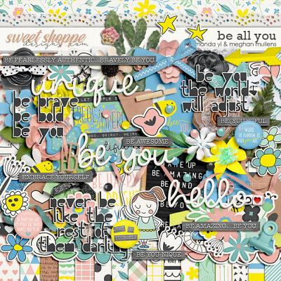 Be All You by Amanda Yi Designs & Meghan Mullens