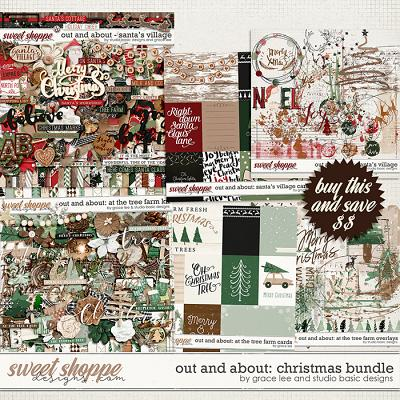 Out and About: Christmas Bundle by Grace Lee and Studio Basic Designs