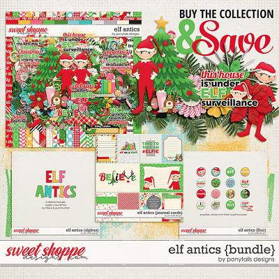 Elf Antics Bundle by Ponytails