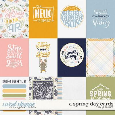 A Spring Day Cards by LJS Designs