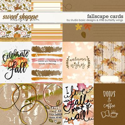 Fallscape Cards by Studio Basic and Little Butterfly Wings