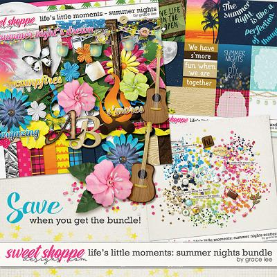 Life's Little Moments Summer Nights: Bundle by Grace Lee