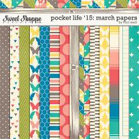 Pocket Life '15: March Papers by Traci Reed