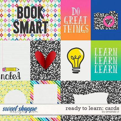 Ready To Learn: Cards by Amanda Yi