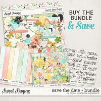 Save The Date Bundle by Digital Scrapbook Ingredients