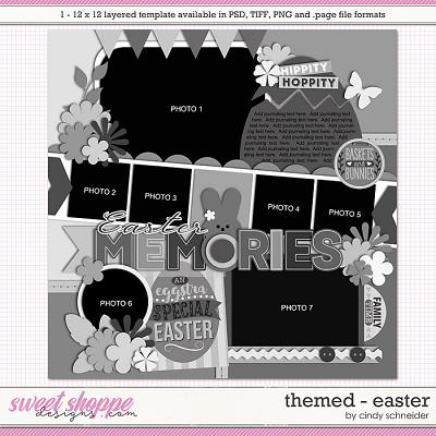 Cindy's Layered Templates - Themed: Easter by Cindy Schneider