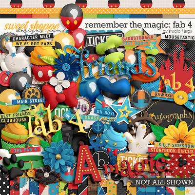 Remember the Magic: FAB 4 by Studio Flergs