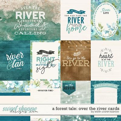 A Forest Tale: Over the River Cards by Kristin Cronin-Barrow