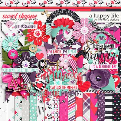 A Happy Life Kit by River Rose Designs